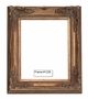 Picture Frames - Oil Paintings & Watercolors - Frame Style #1229 - 20X24 - Dark Gold