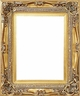 20 X 24 Picture Frames - Gold Frames - Frame Style #338 - 20 X 24
