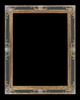 Art - Picture Frames - Oil Paintings & Watercolors - Frame Style #622 - 20x24 - Black & Gold - Ornate Frames