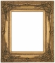 Picture Frames 24x30 - Ornate Gold Picture Frame - Frame Style #339 - 24x30