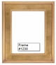 Picture Frames - Oil Paintings & Watercolors - Frame Style #1230 - 24X36 - Traditional Gold