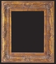 Picture Frames 24 x 36 - Gold Picture Frame - Frame Style #392 - 24x36