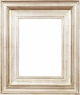 "Picture Frames 24"" x 36"" - Silver Picture Frames - Frame Style #416 - 24 x 36"