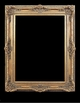 Art - Picture Frames - Oil Paintings & Watercolors - Frame Style #612 - 24x36 - Antique Gold - Ornate Baroque Frames