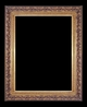 Art - Picture Frames - Oil Paintings & Watercolors - Frame Style #609 - 24x48 - Antique Gold - Ornate Frames