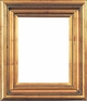 "30 X 40 Picture Frames - Gold Frame - Frame Style #348 - 30"" X 40"""