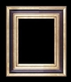 Art - Picture Frames - Oil Paintings & Watercolors - Frame Style #673 - 30x40 - Wood Tone & Gold - Wood & Gold Frames