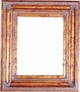 "36X36 Picture Frames - Gold Frame - Frame Style #374 - 36"" X 36"""
