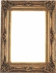 "36 X 48 Picture Frames - Ornate Gold Picture Frame - Frame Style #314 - 36"" X 48"""