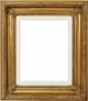 Picture Frames 36 x 48 - Gold Picture Frames - Frame Style #318 - 36 x 48