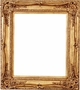36X48 Picture Frames - Gold Ornate Picture Frame - Frame Style #346 - 36X48