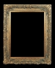Art - Picture Frames - Oil Paintings & Watercolors - Frame Style #610 - 36x48 - Antique Gold - Ornate Frames