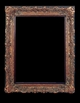 Art - Picture Frames - Oil Paintings & Watercolors - Frame Style #635 - 36x48 - Dark Gold - Ornate Frames