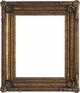 40X40 Picture Frames - Gold Picture Frame - Frame Style #390 - 40X40
