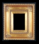 Art - Picture Frames - Oil Paintings & Watercolors - Frame Style #663 - 5x7 - Traditional Gold - Ornate Frames