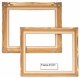 Picture Frames - Oil Paintings & Watercolors - Frame Style #1201 - 8X10 - Traditional Gold