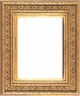 "8""X10"" Picture Frames - Gold Frame - Frame Style #322 - 8"" X 10"""