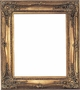 "Picture Frames 8""x10"" - Ornate Gold Picture Frames - Frame Style #323 - 8 x 10"