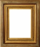 "Picture Frames 8x10 - Gold Picture Frame - Frame Style #328 - 8"" x 10"""