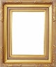 "Picture Frames 8x10 - Gold Picture Frames - Frame Style #332 - 8""x10"""