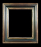Art - Picture Frames - Oil Paintings & Watercolors - Frame Style #620 - 8x10 - Black & Gold - Black & Gold Frames