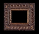Art - Picture Frames - Oil Paintings & Watercolors - Frame Style #630 - 8x10 - Dark Gold - Ornate Frames