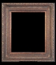 Art - Picture Frames - Oil Paintings & Watercolors - Frame Style #633 - 8x10 - Dark Gold - Ornate Frames