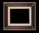 Art - Picture Frames - Oil Paintings & Watercolors - Frame Style #671 - 8x10 - Wood Tone & Gold - Ornate Frames