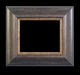 Art - Picture Frames - Oil Paintings & Watercolors - Frame Style #676 - 8x10 - Wood Tone & Gold - Wood & Gold Frames