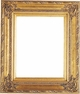 "Picture Frames 9""x12"" - Gold Picture Frames - Frame Style #334 - 9 x 12"