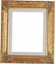 "Picture Frames 9""x12"" - Gold Picture Frames - Frame Style #335 - 9 x 12"