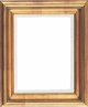"Picture Frames 9""x12"" - Gold Picture Frames - Frame Style #349 - 9 x 12"