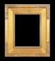 Art - Picture Frames - Oil Paintings & Watercolors - Frame Style #645 - 9x12 - Light Gold - Plein Air Frames