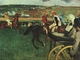 Art - Oil Paintings - Masterpiece #3004 - Edgar Degas - At the Races - Gallery Quality