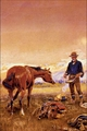 Art - Oil Paintings - Masterpiece #3023 - Charles M Russell - Partners - Gallery Quality