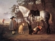 Art - Oil Paintings - Masterpiece #3028 - CUYP, Aelbert - Grey Horse in a Landscape dfg - Gallery Quality