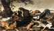 Art - Oil Paintings - Masterpiece #3032 - SNYDERS, Frans - Wild Boar Hunt t - Gallery Quality