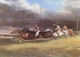 Art - Oil Paintings - Masterpiece #3056 - Theodore Gericault - The Epsom Derby (mk09) - Gallery Quality