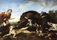 Art - Oil Paintings - Masterpiece #3060 - Frans Snyders - Wild Boar Hunt - Gallery Quality