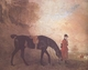 Art - Oil Paintings - Masterpiece #3065 - Benjamin Marshall - Curricle with a Huntsman (mk25) - Gallery Quality