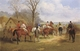 Art - Oil Paintings - Masterpiece #3072 - John sturgess - Going to Post,Jumping the Brook,Crossing thte Road,and The Run in (mk37) - Museum Quality