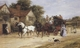 Art - Oil Paintings - Masterpiece #3073 - Heywood Hardy - The London Mail leaving The Three Crowns (mk37) - Gallery Quality
