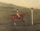 Art - Oil Paintings - Masterpiece #3108 - Francis Sartorius - Eclipse' with Jockey up walking the Course for the King's Plate 1776 - Museum Quality