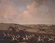 Art - Oil Paintings - Masterpiece #3114 - James Seymour - A Huntsman and Hounds Near a Country House - Museum Quality