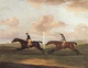 Art - Oil Paintings - Masterpiece #3115 - Francis Sartorius - The Race For The King's Plate at Newmarket,6th May 1797,Won By 'Tottenridge' - Museum Quality
