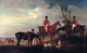 Art - Oil Paintings - Masterpiece #3128 - John Ferneley - John,Henry and Francis Grant at Melton - Gallery Quality