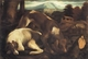Art - Oil Paintings - Masterpiece #3135 - Jacopo Bassano - Two Dogs - Museum Quality