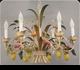Jeanne Reed's - Italian Chandelier - (metal - fruit)