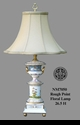"""Jeanne Reed's - """"Rough Point"""" Floral Lamp"""