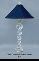 Jeanne Reed's - Crystal 18% Ball Lamp